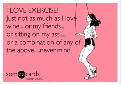How Many of Us Take This Funny Approach to Healthy Living?