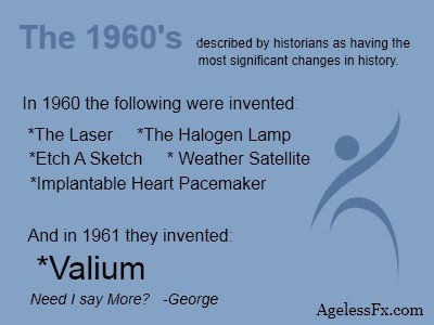 Image of 1960 inventions as seen in Old People Jokes by www.AgelessFX.com